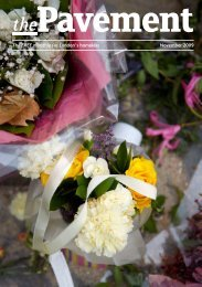 November 2009 The FREE monthly for London's ... - The Pavement