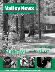 May-June - Valley Rural Electric Cooperative