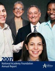 2007 - National Academy Foundation