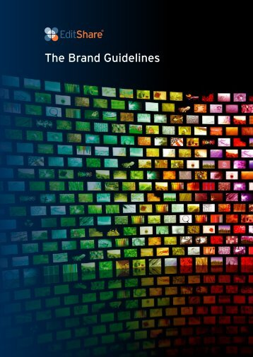 The Brand Guidelines - EditShare