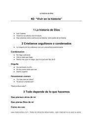 """#2: """"Vivir en la historia"""" 1 La historia de Dios 2 ... - PazConDios"""