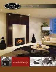 Montpelier – Wood Burning Fireplace Insert