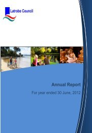 2011-2012 Annual Report - Latrobe Council
