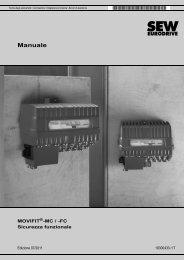 MOVIFIT®-MC / -FC Sicurezza funzionale - SEW Eurodrive