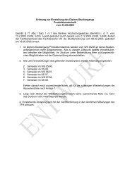 Ordnung zur Einstellung des Diplom-Studiengangs ...