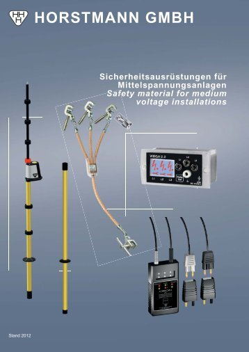 Katalog Sicherheit - Horstmann Gmbh
