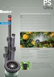 PS ULTRA.pdf - Hunter Industries