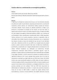 Eventos adversos a medicamentos em emergência pediátrica - Fcm