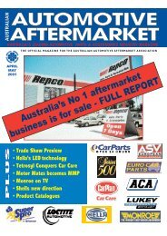 the official magazine for the australian automotive