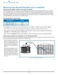 Tower Mounted Amplifiers, Diagnostics and Isolation ... - Opticus - Page 4