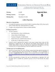 Agenda Item 5 - IFAC