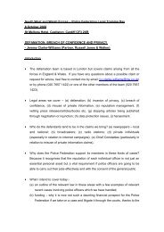 Defamation, Breach of Confidence and Privacy.pdf - West Midlands ...