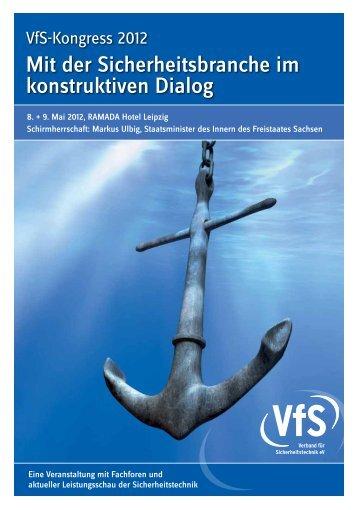 Mit der Sicherheitsbranche im konstruktiven dialog - Scanvest