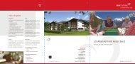 Broschuere Altersheim Klosters - Flury Stiftung