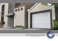 Sectional garage doors - DoorCalculation.com