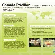 Canada Pavilion - B-FOR International