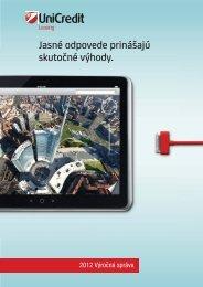 Výročná správa 2012 - UniCredit Leasing