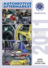 AM Media Guide 08 - Australian Automotive Aftermarket Magazine