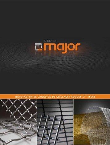 Brochure - Grillage Major
