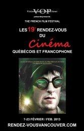 Cinéma - Rendez-vousvancouver