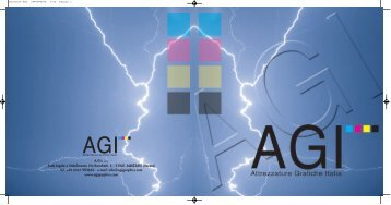 A.G.I. S.R.L. Sede legale e Stabilimento Via ... - Jet Technologies