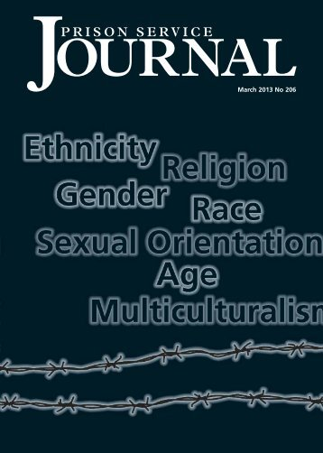 Prison Service Journal - Centre for Crime and Justice Studies