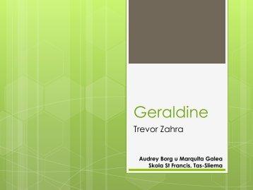 Analiżi – Geraldine - il-blogg għall-għalliema tal-malti