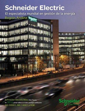 Schneider Electric, El Especialista Mundial en Gestión de la Energía