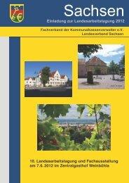 Einladung zur Landesarbeitstagung 2012 - Fachverband der ...