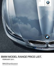Download price list - BMW