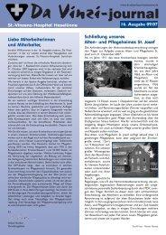 Da Vinzi-journal St. - St.-Vinzenz-Hospital