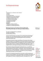 Bistum Hildesheim Der Diözesanadministrator