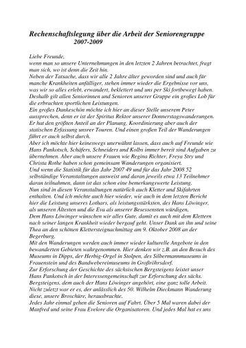 RB_Senioren_2009.pdf - PSV Elbe Dresden eV -Sektion Wandern ...