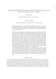 Large-Scale Atmospheric Circulation Variability and its Impacts on ...