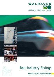 Brochure Rail Industry Fixings - Walraven