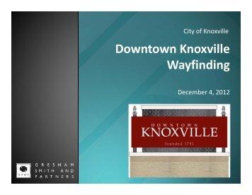 Dec. 4, 2012 Public Meeting Presentation [PDF] - City of Knoxville