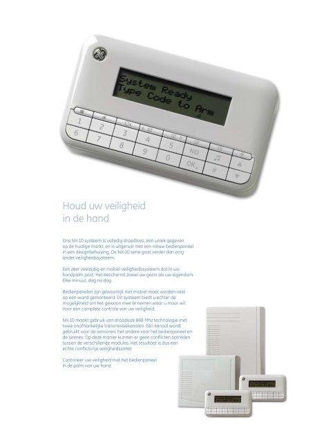 NX-10 gebruikerbrochure - Lobeco