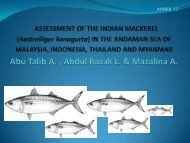 RISK ASSESSMENT FOR INDIAN MACKEREL ... - Seafdec