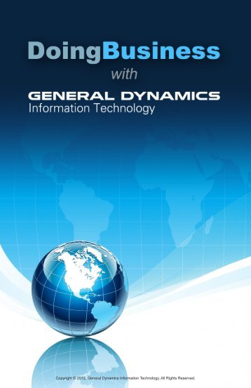 Doing Business with General Dynamics Information Technology