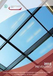 2012 PREVENTIVO - Camera di Commercio