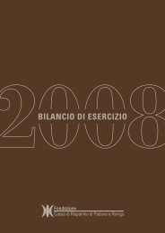BILANCIO DI ESERCIZIO - Acri