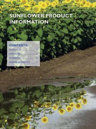 sunflower product information - Directrouter.com