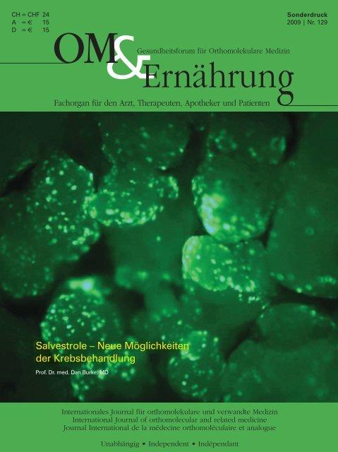 Salvestrole – Neue Möglichkeiten der Krebsbehandlung Salvestrole ...