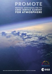 for atmosphere - Protocol Monitoring for the GMES Service Element