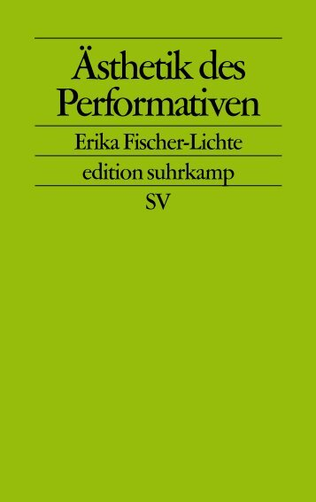 Ästhetik des Performativen