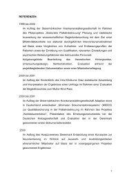 Referenzen - Koordination Palliativbetreuung Steiermark