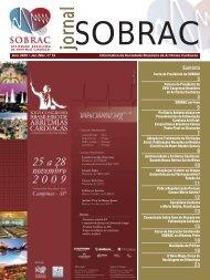 Jornal SOBRAC - Departamentos Científicos