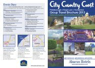 Group Travel Brochure 2013 - Abacus Hotels