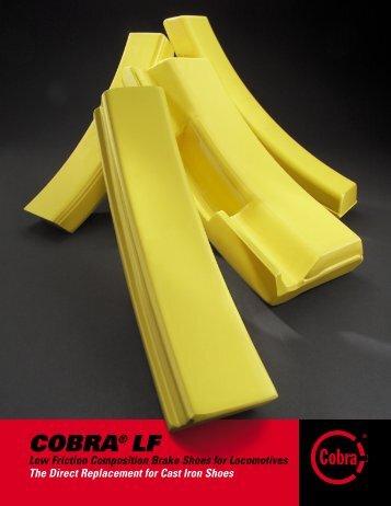 COBRA® LF - Railroad Friction Products Corporation