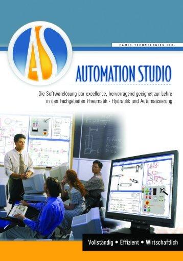 Automation Studio german Educational Brochure